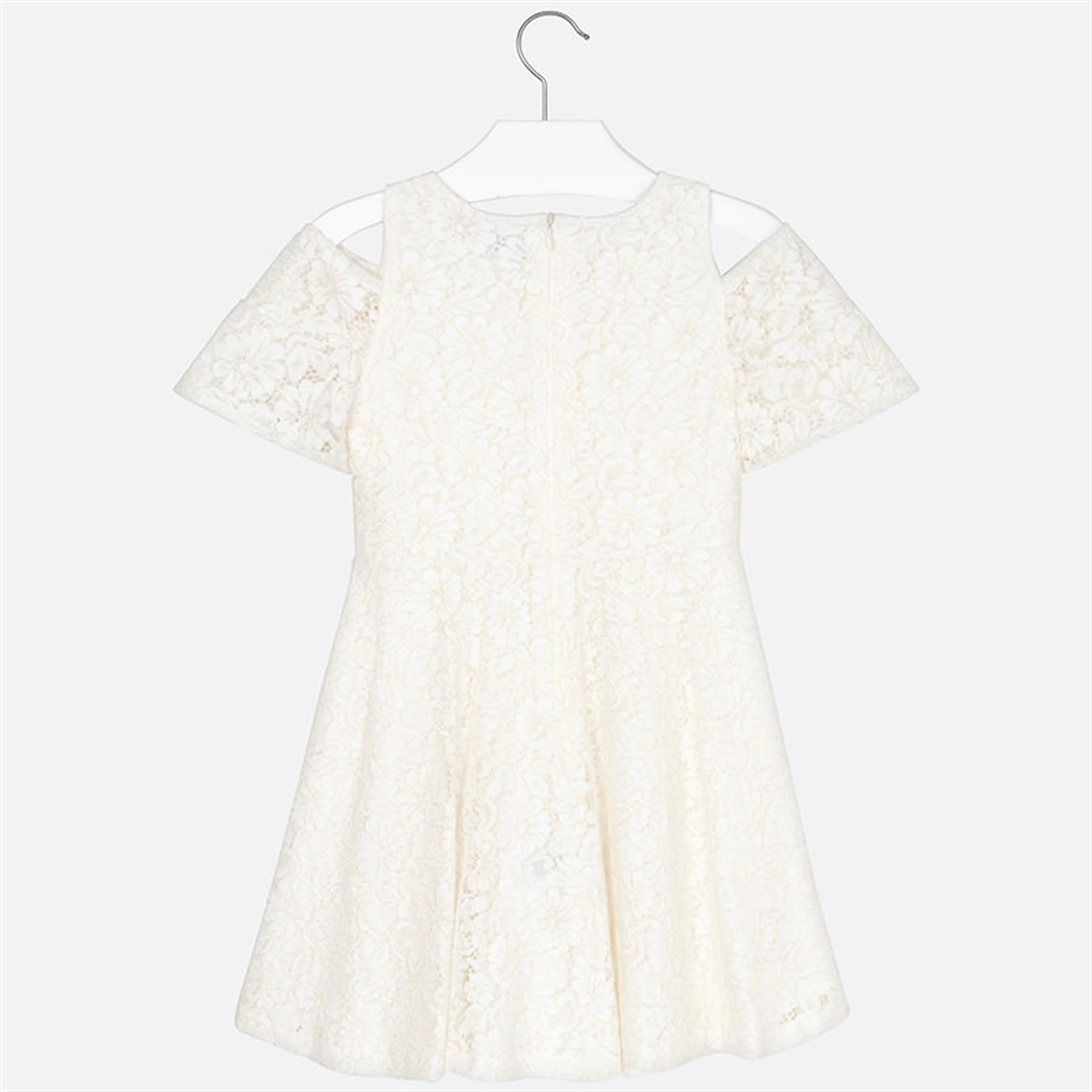 1aa764bc126 8-14 Years Mayoral Off-the-shoulder lace dress for girl | Cslkids.com