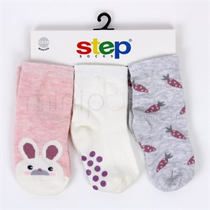 0-4 Years Step Socks set For baby