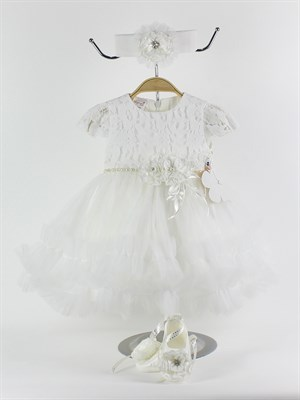 0-6 Months ceremony dress for newborn girl