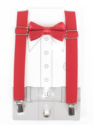1-10 Years suspenders and bow tie set for kids
