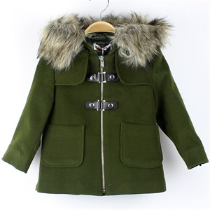 1-6 Years İncity coat for girl