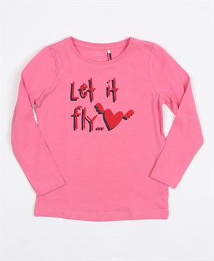 2-8 Years Name it organic cotton sweatshirt for girl