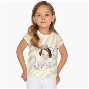2-9 Years Mayoral printed tshirt for girl