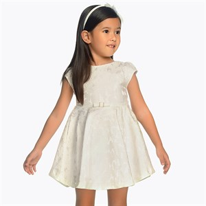 2-9 Years Mayoral Flared dress with flower detailing for girl