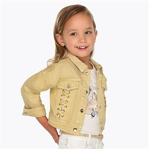 2-9 Years Mayoral Washed effect jacket for girl