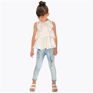 2-9 Years Mayoral Fantasy jeans for girl