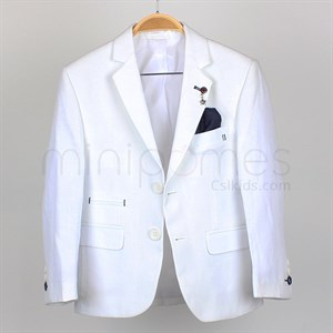 5-15 Years Linen Jacket for boy