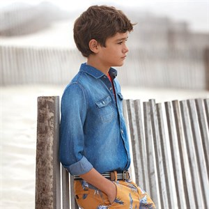Mayoral denim shirt for boy