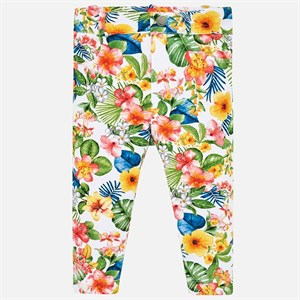 Mayoral Floral pants for baby girl