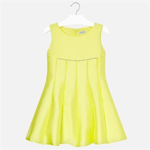 Mayoral Pleated ceremony dress for girl
