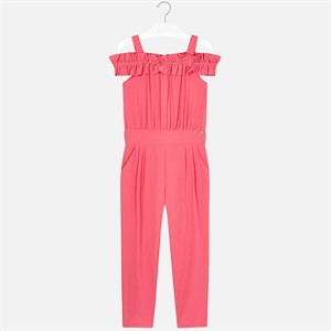 Mayoral Crepe jumpsuit for girl