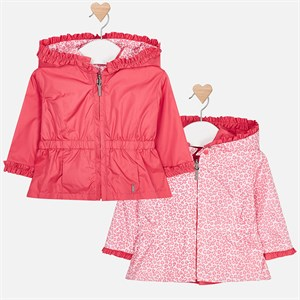 Mayoral Reversible windbreaker jacket for newborn